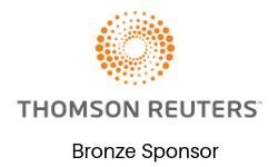 Thompson Reuters Bronze Sponsor